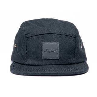 Marshall - 面板徽章帽  (黑色)