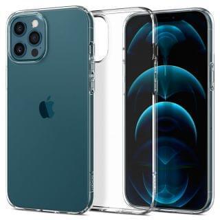 Spigen - iPhone 12 Pro Max Liquid Crystal 保護殼  (透明)