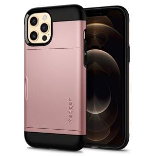 Spigen - iPhone 12 Pro Max Slim Armor CS 保護殼 (玫瑰金)