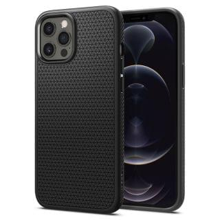 Spigen - iPhone 12 Pro / 12 Liquid Air 保護殼 (啞黑色)