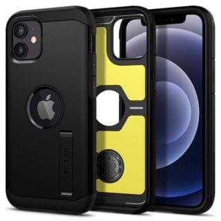 Spigen - iPhone 12 mini Tough Armor 保護殼 (黑色)