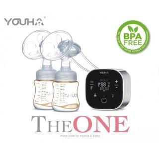 Youha 優合 - The ONE 雙邊電動奶泵 +The ONE Express Cup免提喇叭第二代(24mm) (香港行貨)