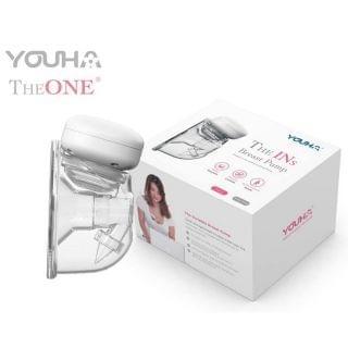 Youha 優合 - 2020年最新款式The INS 穿戴式免提電動吸奶器電動奶泵24mm (香港行貨)
