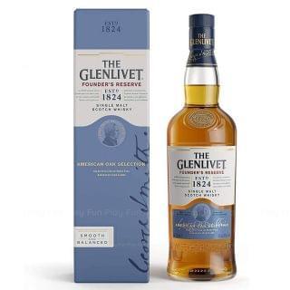 The Glenlivet - Glenlivet Founder's Reserve 威士忌  (禮盒裝) (700ml)