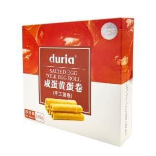 DURIA - 手工蛋卷 (鹹蛋黃味) (120g)