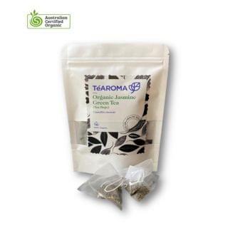 TeAROMA - 有機茉莉綠茶包 (2.5g x 30包)