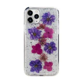 SwitchEasy - iPhone 11 Pro Flash 保護殼 (真花) (Purple)