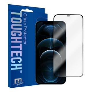 Movfazz - ToughTech iPhone 12 Pro Max 全屏玻璃螢幕保護貼 (黑邊)