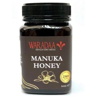 Waradaa - MGO 250+ 麥蘆卡蜂蜜 (500g)