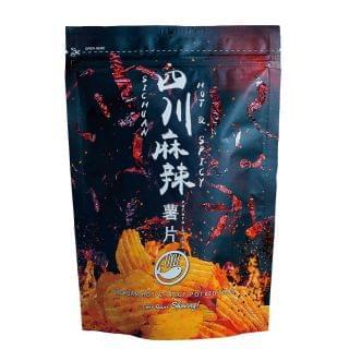 OYU - 四川麻辣薯片 (120g)