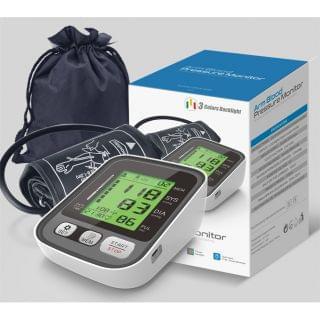 Andard -  全自動手臂式電子血壓計 (三色背光)