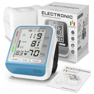 Andard - 全自動手腕式電子血壓計 (三色背光)
