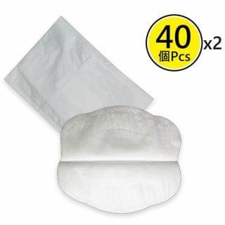 HAOLIXIANG - 一次性口罩墊 (40片裝) (口罩專用 x 2包)