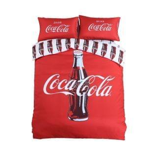 Casablanca 卡撒天嬌 - Coca-Cola 經典紅寢具套裝 (CK001) (4呎雙人)