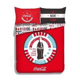Casablanca 卡撒天嬌 - Coca-Cola 2020 寢具套裝 (CK004) (4呎半雙人)