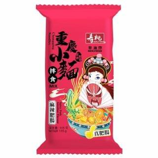 壽桃 - 重慶小麵 (麻辣肥腸) (單包裝)