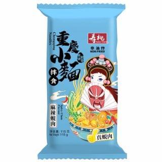 壽桃 - 重慶小麵 (麻辣蜆肉) (單包裝) (115g)