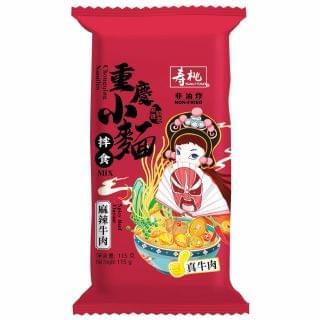 壽桃 - 重慶小麵 (麻辣牛肉) (單包裝) (115g)