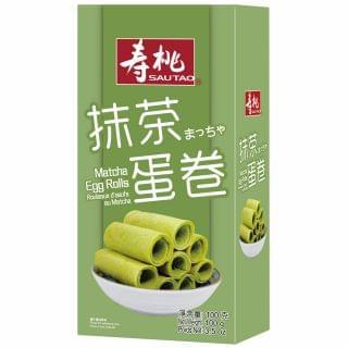 壽桃 - 抹茶雞蛋卷 (100g)