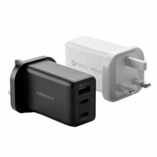 MOMAX -  One Plug 3-USB智能充電器 (黑)