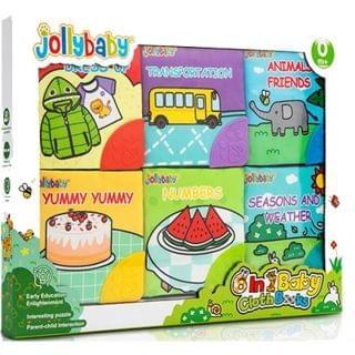 Jollybaby - 嬰兒磨牙布書裝