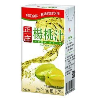 光泉 - 正庄楊桃汁 (300ml x 6件)