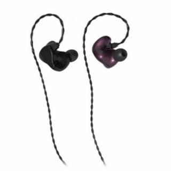 INEAR - 德國製造 InEar StageDiver-2 專業級2動鐵入耳式耳機 (Aubergine Metallic) (S)
