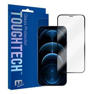 Movfazz - ToughTech iPhone 12 Pro / 12 全屏玻璃螢幕保護貼 (黑邊)