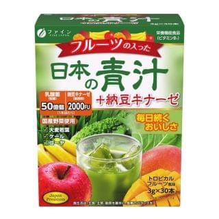 Fine Japan優の源 - 日本納豆青汁 (3克 x 30條)