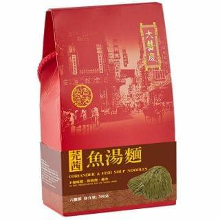 大囍慶 - 芫茜魚湯麵 (手挽裝) (300g)