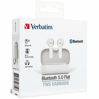 Verbatim - 藍牙5.0平耳式真無線耳機 (白色)
