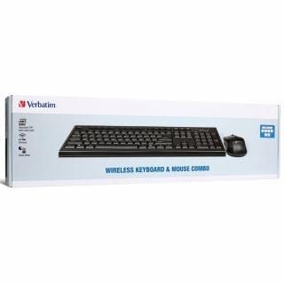 Verbatim - 無線鍵盤及滑鼠套裝 (繁體中文版) (黑色)
