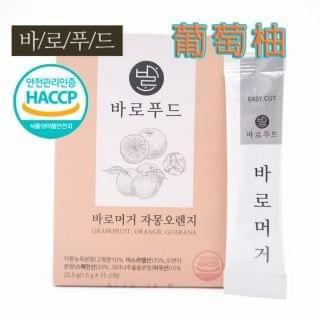 Korea - Baro Grapefruit 巴羅即溶養生粉 (葡萄柚味) (一盒15小包)