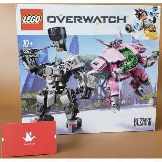 Lego 樂高 - Overwatch D.Va & Reinhardt (75973)