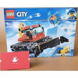 Lego 樂高 - City Great Vehicles Snow Groomer (60222)