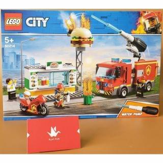 Lego 樂高 - City Fire Burger Bar Fire Rescue (60214)