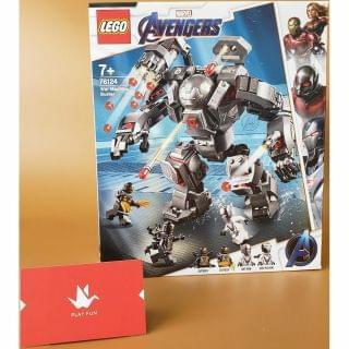 Lego 樂高 - Super Heroes War Machine Buster (76124)