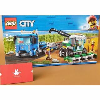 Lego 樂高 - City Great Vehicles Harvester Transport (60223)