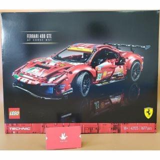 "Lego 樂高 - Technic Ferrari 488 GTE ""AF Corse #51"" (42125)"