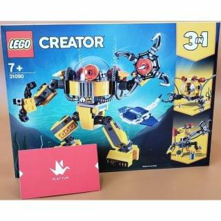 Lego 樂高 - Creator Underwater Robot (31090)