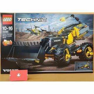 Lego 樂高 - Technic Volvo Concept Wheel Loader ZEUX (42081)