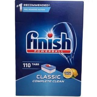 Finish - 亮碟洗碗機強效洗碗球 (經典檸檬) (110粒)