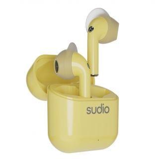 Sudio - Nio 真無線耳機 (檸檬黃色)