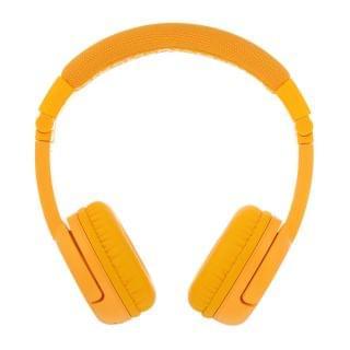 BuddyPhones - Play Plus 頭帶式無線兒童耳機 (有咪) (黃色)