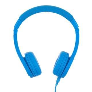 BuddyPhones - Explore Plus 頭帶式兒童耳機 (有咪) (探索款冰藍色)