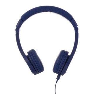 BuddyPhones - Explore Plus 頭帶式兒童耳機 (有咪) (探索款深藍色)