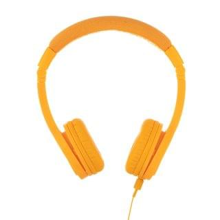 BuddyPhones - Explore Plus 頭帶式兒童耳機 (有咪) (探索款黃色)