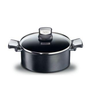 特福 - 法國特福鈦廚悍將系列26CM不沾深煎鍋 (加蓋)