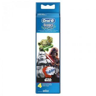 Oral-B - 兒童原裝牙刷頭 (4枝裝) (星球大戰)