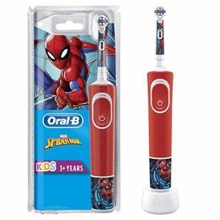 Oral-B - D100 兒童充電電動牙刷 (蜘蛛俠)